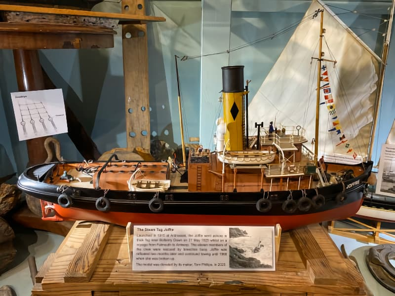 Model of Steam Tug Joffre added to our collection